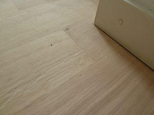 geschuurde eiken vloer